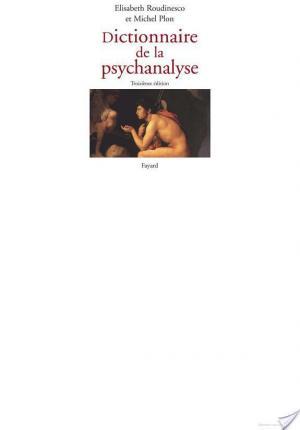 Affiche Dictionnaire de la psychanalyse