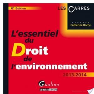 Affiche L'essentiel du droit de l'environnement 2013-2014