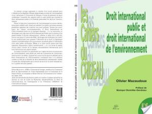 Affiche Droit international public et droit international de l'environnement