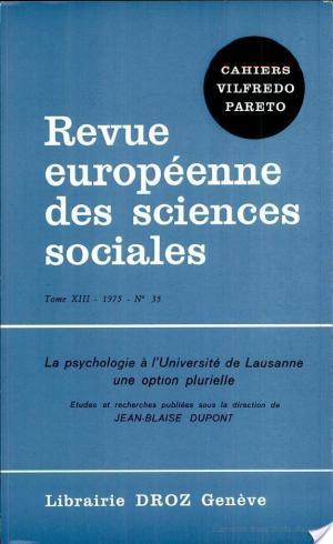 Affiche La Psychologie à l'Université de Lausanne