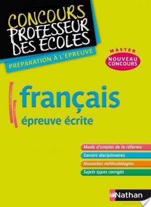 Affiche Français - Épreuve écrite
