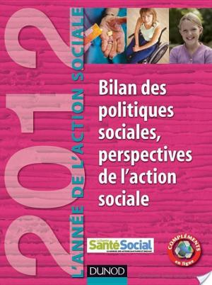 Affiche L'Année de l'Action sociale 2012 - Bilan des politiques sociales