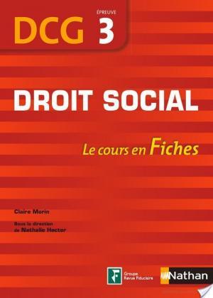 Affiche Droit social 2011-2012 DCG - épreuve 3 - Fiches