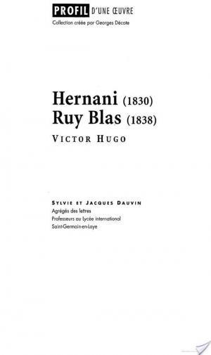 Affiche Profil - Hugo (Victor) : Hernani - Ruy Blas
