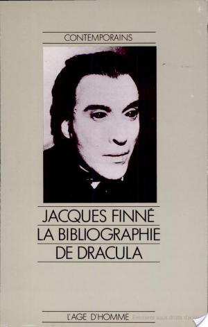 Affiche Bibliographie de Dracula