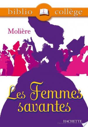 Affiche Bibliocollège - Les Femmes savantes, Molière