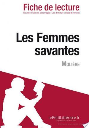 Affiche Les Femmes savantes de Molière (Fiche de lecture)