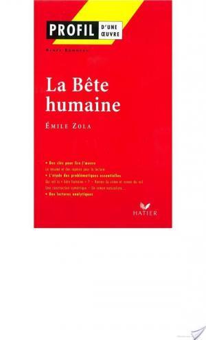 Affiche Profil - Zola (Emile) : La Bête humaine