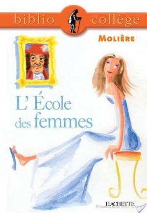 Affiche Bibliocollège - L'École des femmes, Molière
