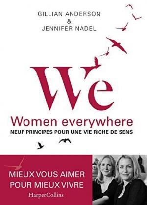 Affiche WE - Neuf principes pour une vie riche de sens: Women everywhere - Avec des exercices d'application pratique