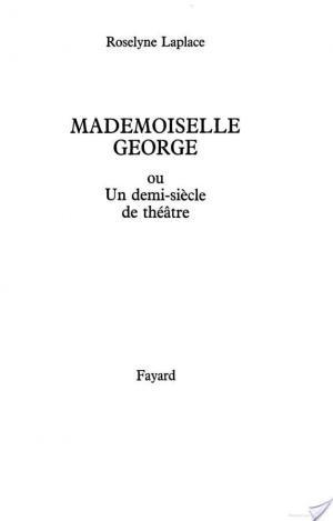 Affiche Mademoiselle George