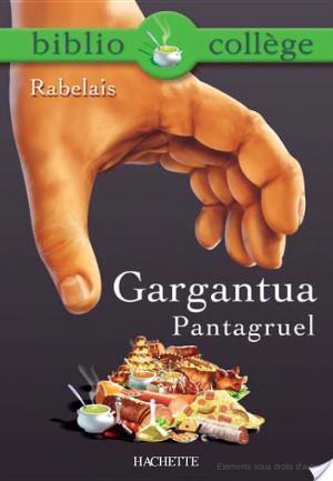 Affiche Bibliocollège - Gargantua, Pantagruel, Rabelais