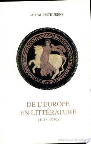 Affiche De l'Europe en littérature