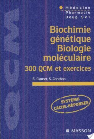 Affiche Biochimie génétique, biologie moléculaire