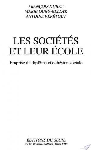Affiche Les sociétés et leurs écoles