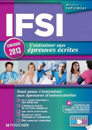 Affiche IFSI s'entrainer aux épreuves écrites Concours 2013