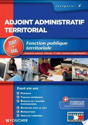 Affiche Adjoint administratif territorial Ecrit et oral Tout en un