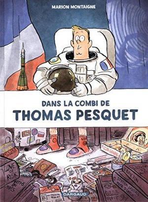 Affiche Dans la Combi de Thomas Pesquet