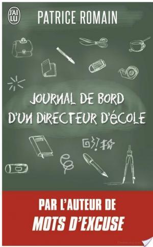 Affiche Journal de bord d'un directeur d'école