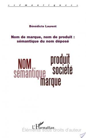 Affiche Nom de marque, nom de produit