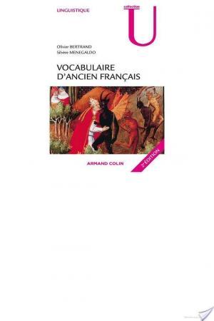 Affiche Vocabulaire d'ancien français