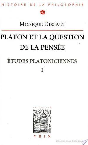 Affiche Platon et la question de la pensée
