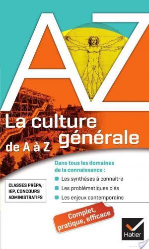Affiche La culture générale de A à Z