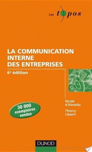 Affiche La communication interne des entreprises - 6e édition