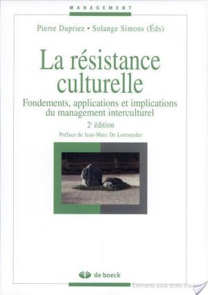 Affiche La résistance culturelle