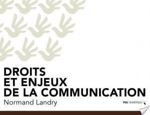 Affiche Droits et enjeux de la communication