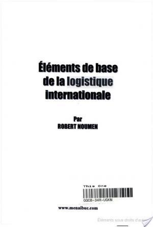 Affiche Éléments de base de la logistique internationale