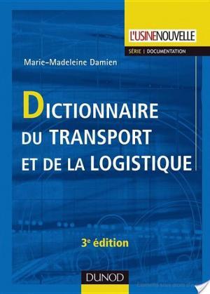 Affiche Dictionnaire du transport et de la logistique - 3ème édition
