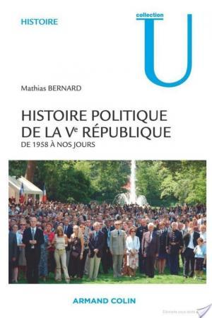 Affiche Histoire politique de la Ve République