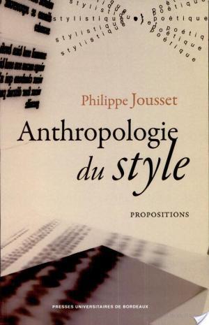 Affiche Anthropologie du style