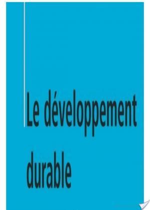 Affiche Le développement durable