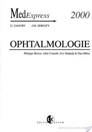 Affiche Ophtalmologie
