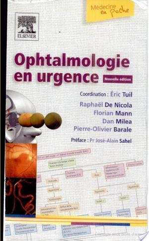 Affiche Ophtalmologie en urgence