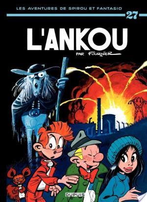 Affiche Spirou et Fantasio - Tome 27 - L'ANKOU