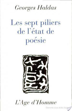 Affiche Les sept piliers de l'état de poésie