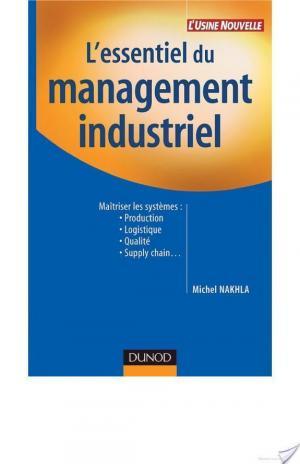 Affiche L'essentiel du management industriel