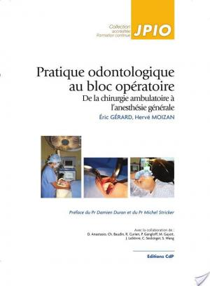 Affiche Pratique odontologique au bloc opératoire