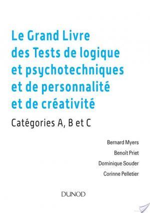Affiche Le grand livre des tests de logique et psychotechniques et de personnalité et de créativité