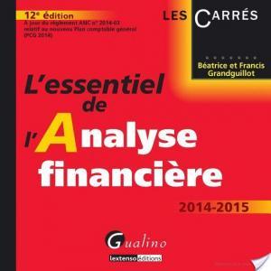 Affiche L'essentiel de l'analyse financière 2014-2015