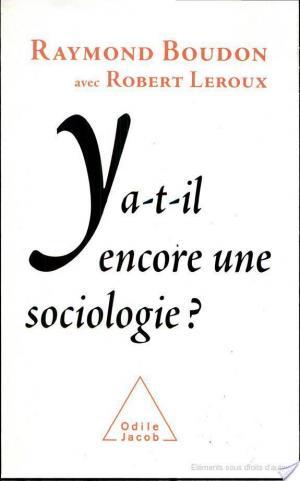 Affiche Y a-t-il encore une sociologie ?