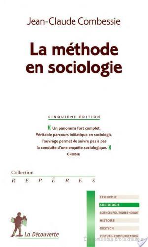 Affiche La méthode en sociologie