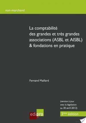 Affiche La comptabilité des grandes et très grandes associations (ASBL et AISBL) &