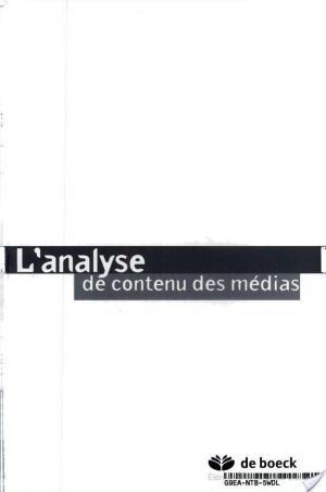 Affiche L'analyse de contenu des médias