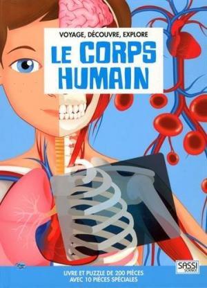 Affiche Voyage, découvre, explore - Le corps humain