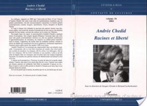 Affiche Andrée Chedid, racines et libertés