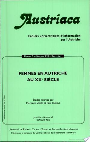 Affiche Femmes en Autriche au XXe siècle
